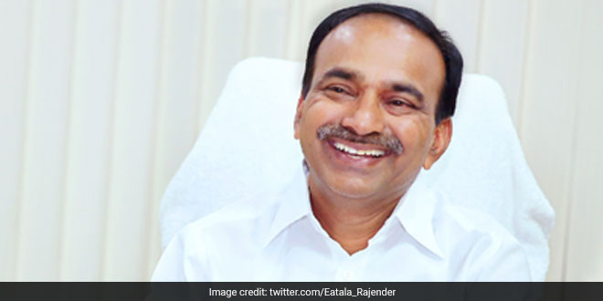 COVID-19 Death Rate In Telangana At 1.7 Per Cent, Says Health Minister Eatala Rajender