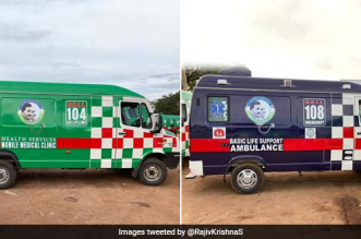 Healthcare System In Andhra Pradesh Gets A Boost, Chief Minister Launches 1,088 Ambulance Vehicles And Mobile Health Units