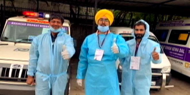 Saluting Corona Warriors: Shaheed Bhagat Singh Sewa Dal Ensures Dignity In Death