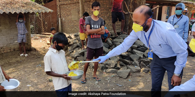 With Over 7 Crore Meals, Akshaya Patra Foundation Is Reaching Out To The Most Vulnerable Amid The COVID-19 Pandemic