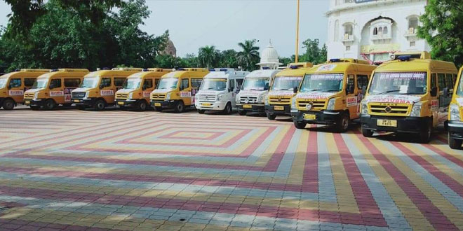 Delhi Sikh Gurdwara Management Committee Starts Free Ambulance Service For COVID-19 Patients