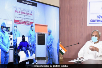 Odisha Chief Minister Naveen Patnaik Inaugurates Second Plasma Bank, Web Portal For Donors