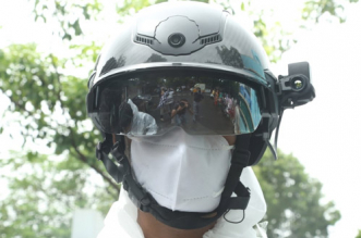 Coronavirus Pandemic: Smart Helmets To Detect Possible COVID-19 Infections In Slum Areas Of Mumbai