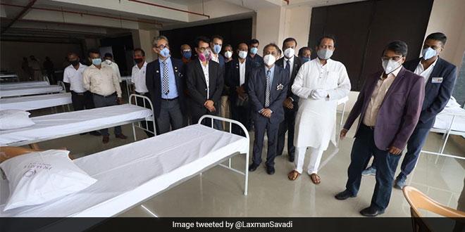 Karnataka Government Inaugurates COVID Care Centre At Bengaluru Bus Station