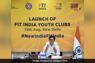 Union Minister Kiren Rijiju Launches Fit India Youth Club To Promote Fitness Among Countrymen