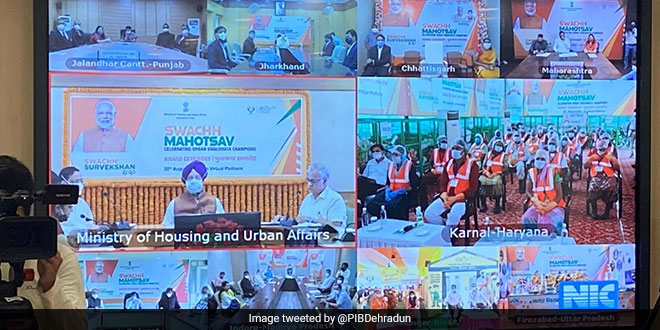 Swachh Survekshan 2020: Indore Continues Its Winning Streak, Is India's Cleanest City Again; Here's The List Of Winners
