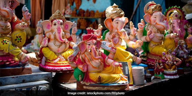 Corona Warriors Theme-Based Idols Of Lord Ganesha Installed In Hyderabad