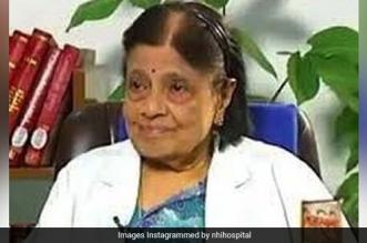 Eminent Cardiologist Dr S Padmavati Dies Of COVID-19 At 103