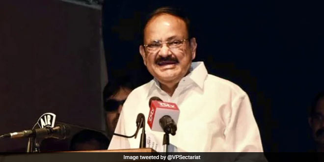 21 Per Cent Children Undernourished, We Must Invest In Early Childhood For Realising Potential: Venkaiah Naidu