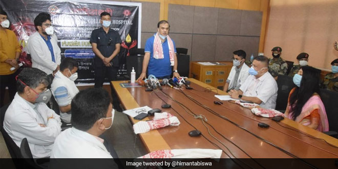 Assam Health Minister Inaugurates Week-Long Plasma Donation Drive At Guwahati Medical College
