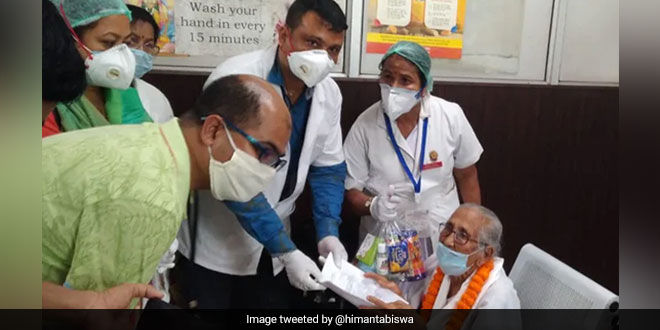 Fight Against Coronavirus: 100-year-old woman beats COVID-19 in Assam