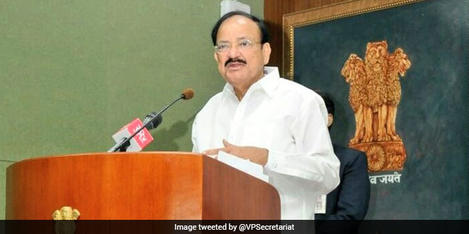 Wearing A Mask Is The Best Safeguard Against COVID-19: Rajya Sabha Chairman M Venkaiah Naidu