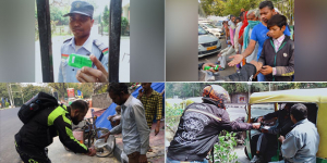 COVID Warriors: 'Bikers For Good', A Community Of Bike Riders Fights COVID-19 By Generating Awareness About Handwashing