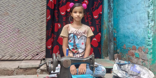 COVID Warriors: Meet Bharti Kumari, A 12-Year-Old Girl Who Makes Masks For Her Community