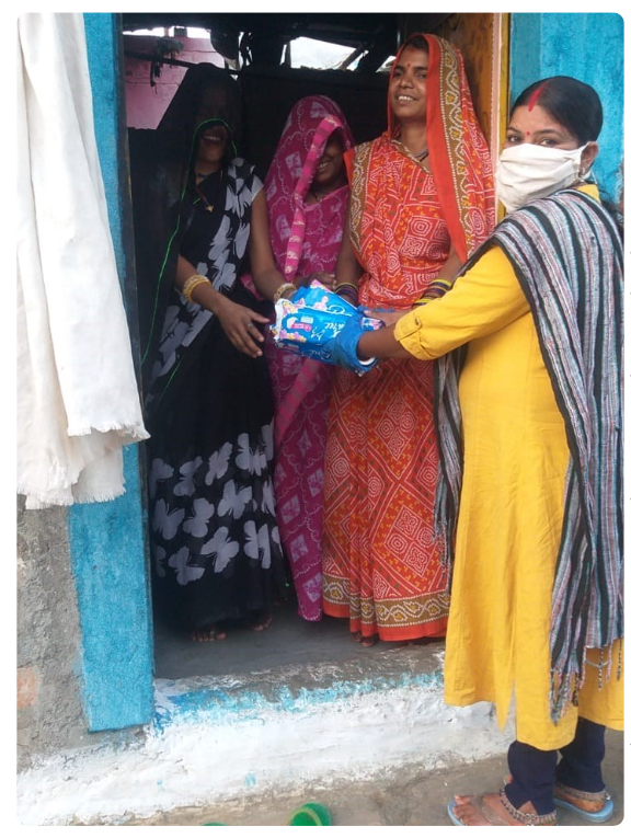 From WASH To COVID-19 And Menstrual Hygiene, Bhopal's Alomati Ray Is A True Warrior Of Change