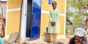Swachh Warrior: 16-Year-Old Tamil Nadu Girl, The Sole Breadwinner Of Her Family, Helps Build Toilets In Her Village