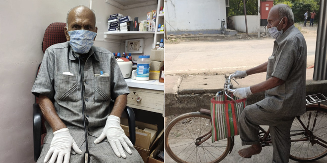 Meet 87-Year-Old Doctor Who Travels 15 Km Every Day To Treat Villagers In Maharashtra's Chandrapur Amidst COVID-19 Pandemic