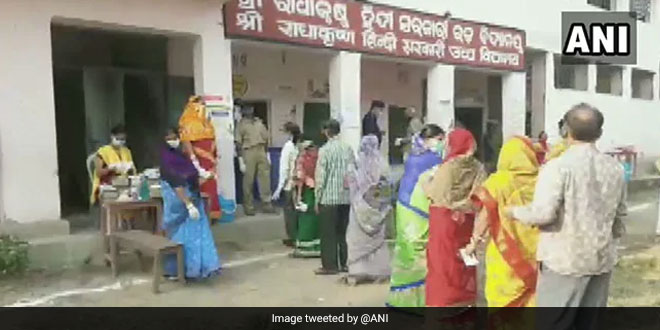 COVID-19: Election Commission Of India Makes Special Arrangements To Ensure Safe Voting For Odisha Bypolls