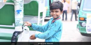 Wash On Wheels: With Indigenous Handwashing Unit WaterAid India Is Promoting Hand Hygiene In Uttar Pradesh