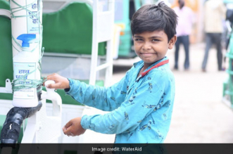 Wash On Wheels: With Indigenous Handwashing Unit WaterAid India Is Promoting Hand Hygiene In Uttar Pradesh