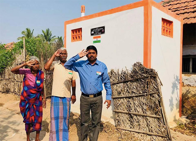 World Toilet Day 2020: Meet 55-Year-Old WASH Warrior From Trichy Who Built Over 6 Lakh Toilets In Last 33 Years