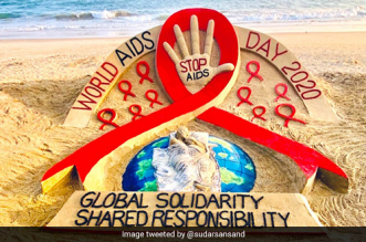 World AIDS Day 2020: Odisha's Sand Artists Call For Global Solidarity, Shared Responsibility