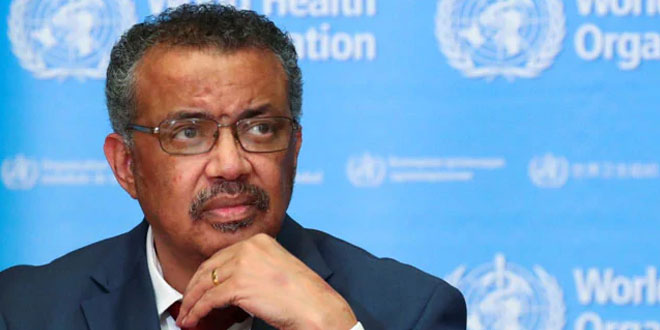 WHO Chief Urges Global Leaders To Invest In COVID-19 Vaccines