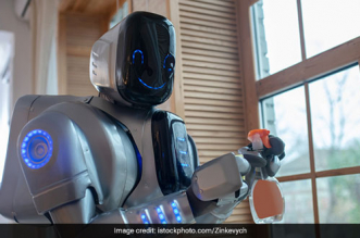 Hyderabad Based Start-Up Develops Robot Disinfectant 'ACCORD'