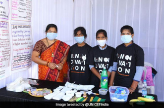 Government School Students In Telangana Make 'Zero Waste' Sanitary Napkins