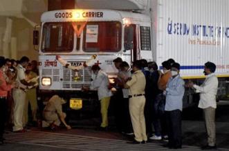 First Batch Of COVID-19 Vaccine Covishield Vials Reaches Delhi's Central Storage Facility