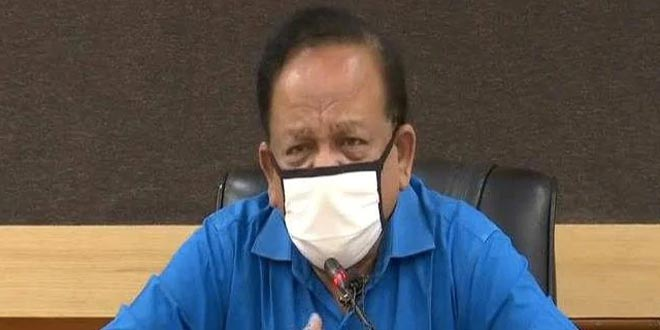Union Health Minister Harsh Vardhan Urges Medical Community To Get Vaccinated Against COVID-19