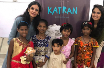 'Katran' which means 'scraps of cloth' is an initiative to convert waste into wealth: Ms. Vandana Jain, Founder, Katran Foundation