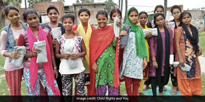 Adolescent Girls In Varanasi Slums Overcome Lack Of Sanitary Pads During COVID-19 lockdown