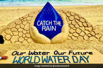 World Water Day 2021 Sand Artist Sudarsan Pattnaik Asks To 'Catch The Rain' For The Future