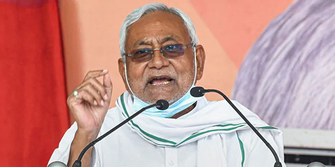 COVID-19 Surge: Bihar Chief Minister Nitish KumarUrges People To Remain Cautious During Holi Festival
