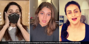COVID-19 Emergency: Madhuri Dixit, BhumiPednekar And Gul Panag Urge People To Stay At Home & Mask Up