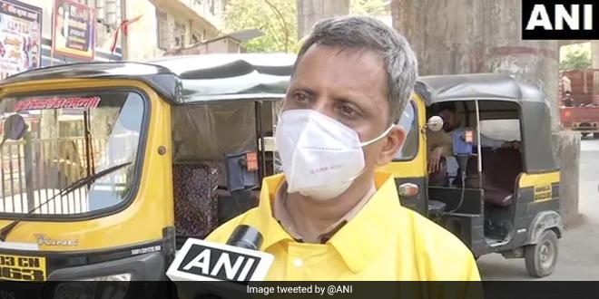 COVID Warrior: Mumbai School Teacher Drives Auto-Rickshaw To Ferry COVID-19 Patients For Free