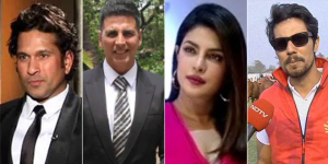 Celebrities And Cricketers Step In To Help Support India's Fight Against COVID-19