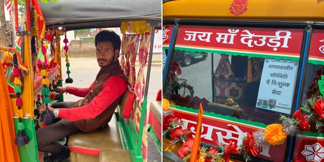COVID Warrior Ranchi Auto-rickshaw Driver Ferries People Facing Medical Emergency For Free