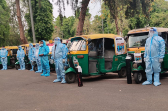 COVID Warriors Free Auto Ambulance Service For COVID-19 Patients Launched In Delhi