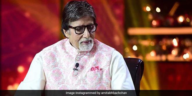 Amitabh Bachchan Donates Rs. 2 Crore To COVID-19 Care Facility In Delhi