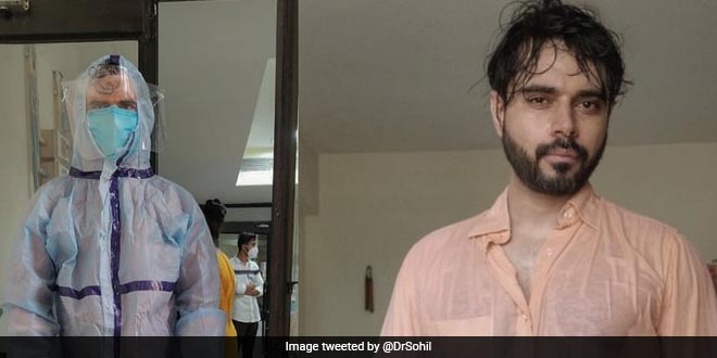 COVID Warrior: Gujarat Doctor Highlights The After-effects Of Wearing PPE Through His Sweat-drenched Photo