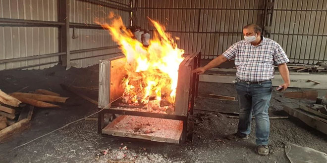 COVID-19: IIT Ropar Develops Cremation Cart Which Requires Less Wood Consumption