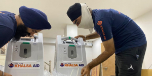 COVID-19 Warriors: Amid Oxygen Shortage, Khalsa Aid Provides Free Oxygen Concentrators To COVID-19 Patients In Home Isolation In Delhi