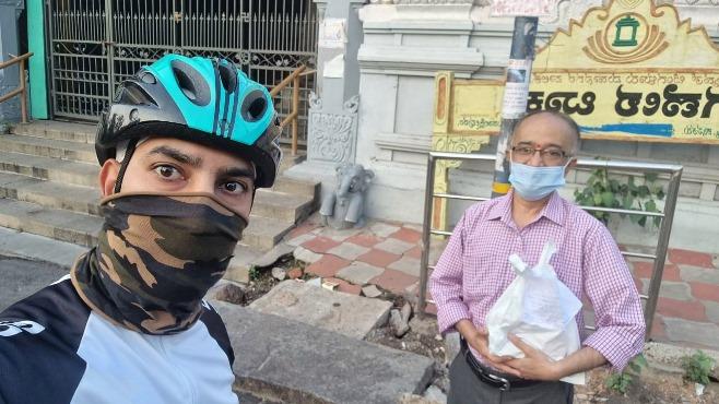 Bengaluru Relief Riders Deliver Groceries, Medicines To Covid Patients, Elders