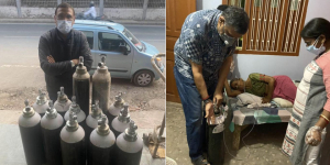 Meet 'Oxygen Man' Of Patna, A COVID Survivor, Who Strives To Get Oxygen Cylinders To Critical Patients In Home Care