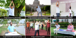 International Yoga Day 2021: Political Leaders Practice Yoga Amid COVID-19 Pandemic, Urge People To Adopt The Ancient Practice
