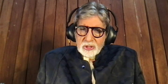 I had the privilege to be appointed through the United Nations to work on Polio immunisation in India: Amitabh Bachchan