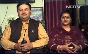 'Ambulance Couple' AKA Twinkle and Himanshu Kalia
