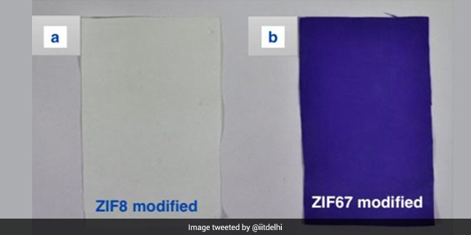 IIT Delhi Researchers Develop Modified Cotton Fabric Which Adsorbs Air Pollutants From Air